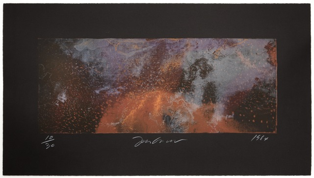 , 'Forest Fire Lithograph 360C,' 1984, KOKI ARTS