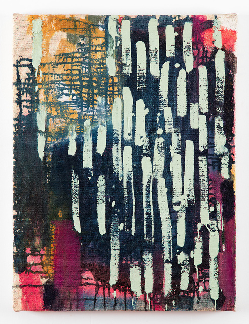 Molly Herman, 'Tapis Bleu', 2107, The Painting Center