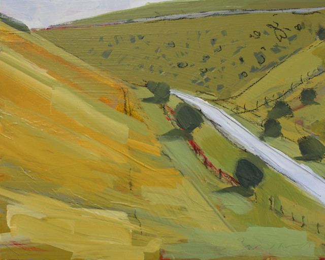 , 'Chalk Dale, Yorkshire Wolds,' 2015, The Biscuit Factory