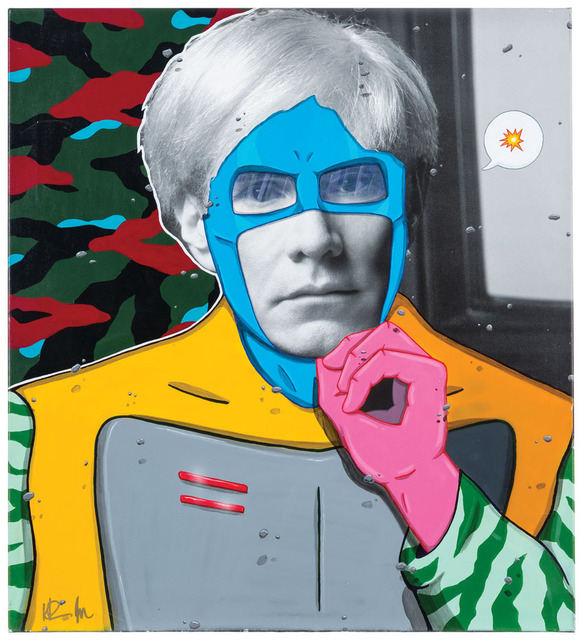 , 'Andy Superhero Pop,' 2014, The Untitled Space