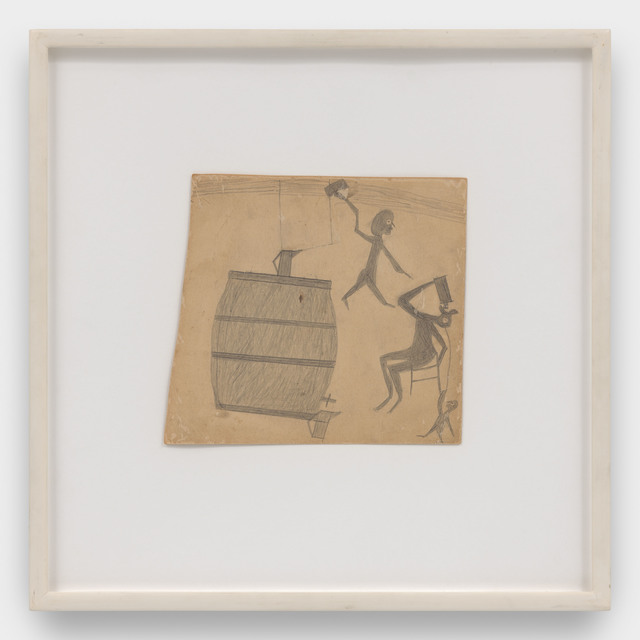 , 'Two Figures with Large Barrel,' 1939-1942, David Zwirner