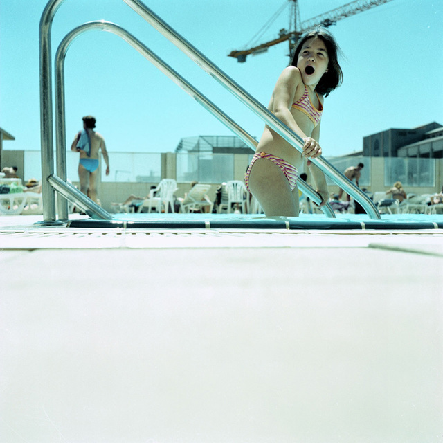 Karine Laval, 'Untitled #3 (The Pool), Barcelona', 2002, Photography, Benrubi Gallery