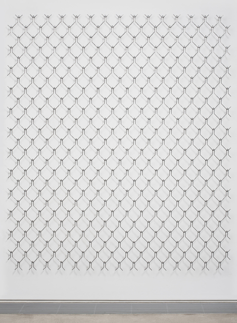 , 'FENCE (HUMAN) I,' 2018, Maddox Arts
