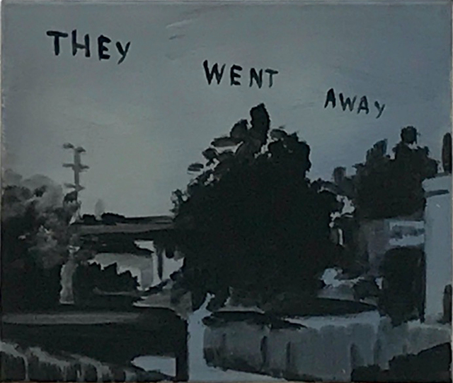 Andreas Leikauf, 'They went away', 2005, Painting, Acrylic on canvas, Gagliardi e Domke