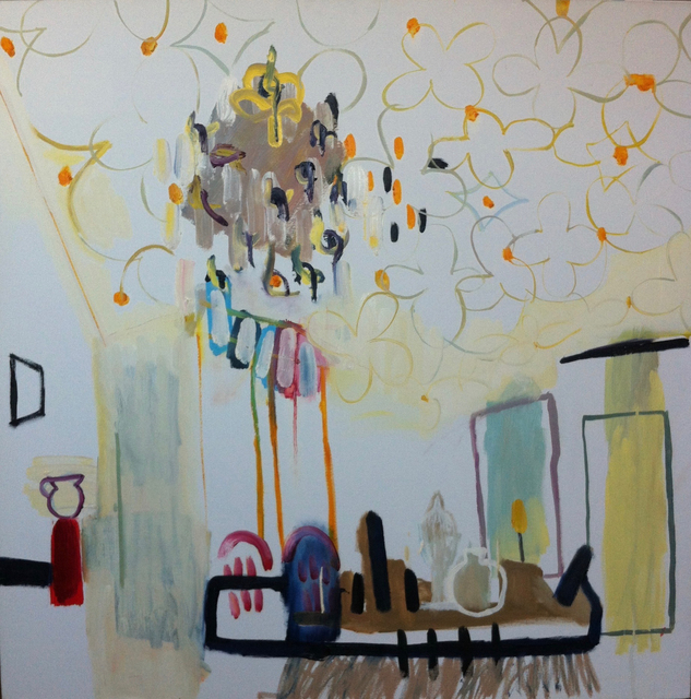 , 'The White Room at Danny's House,' 2012, Candida Stevens Gallery