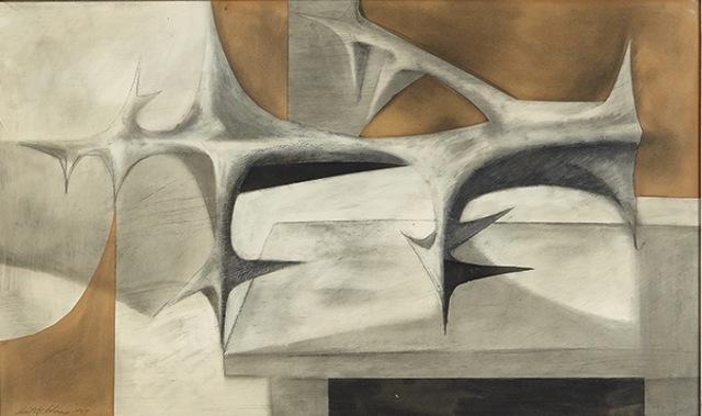 , 'Thorn Fragment,' 1957, AbExArt