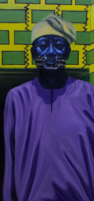 , 'Elder (Professor Olatunji),' 2018, Conduit Gallery