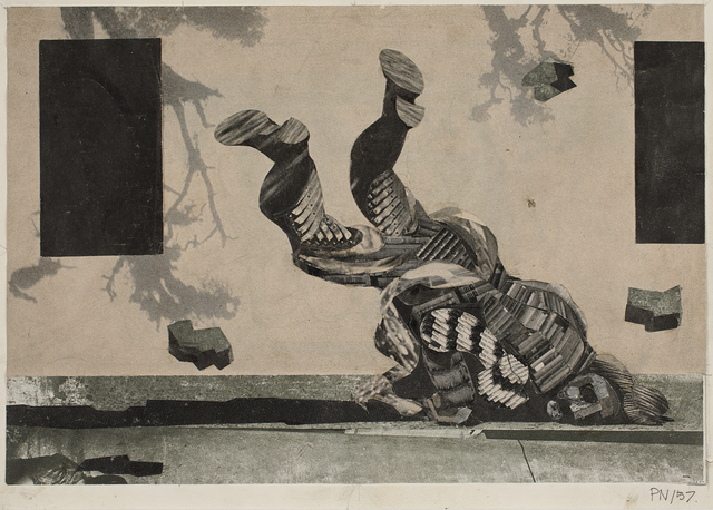 , 'Komposition over Jeremias Klagesange II, 22 (Composition on the Lamentations of Jeremiah II, 22) ,' 1957, Statens Museum for Kunst