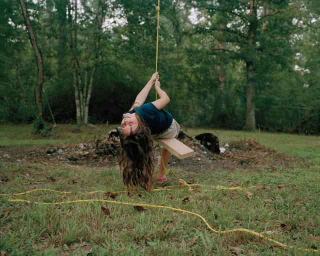 , 'Kaylyn Swinging,' 2010, Light Work