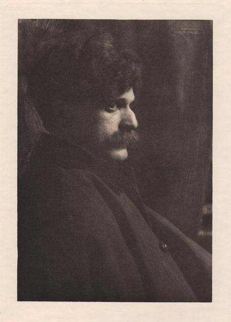 ", '""Portrait of Alfred Steiglitz"",' Neg. date: 1909 c. / Print date: 1909 c., Alan Klotz Gallery"
