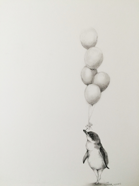 , 'Penguin with Balloons ,' , Visions West Contemporary