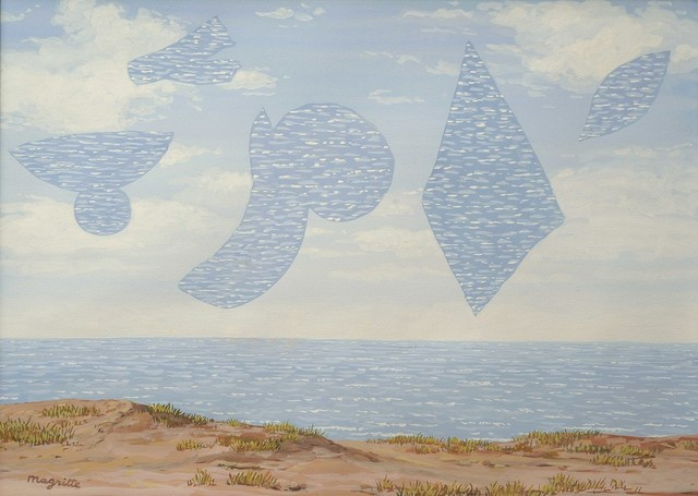 , 'Les derniers voiliers (The last sailing ships),' 1964, The Embassy Brussels