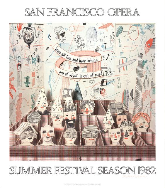 David Hockney, 'San Francisco Opera', 1982, ArtWise
