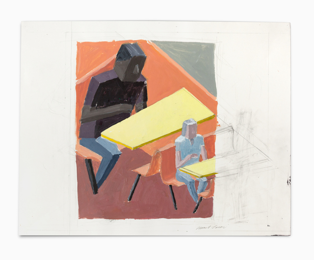 , 'Cafe (Study 3),' 2011, VARIOUS SMALL FIRES