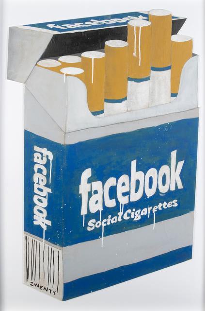 2Wenty, 'Facebook Social Cigarettes', Julien's Auctions