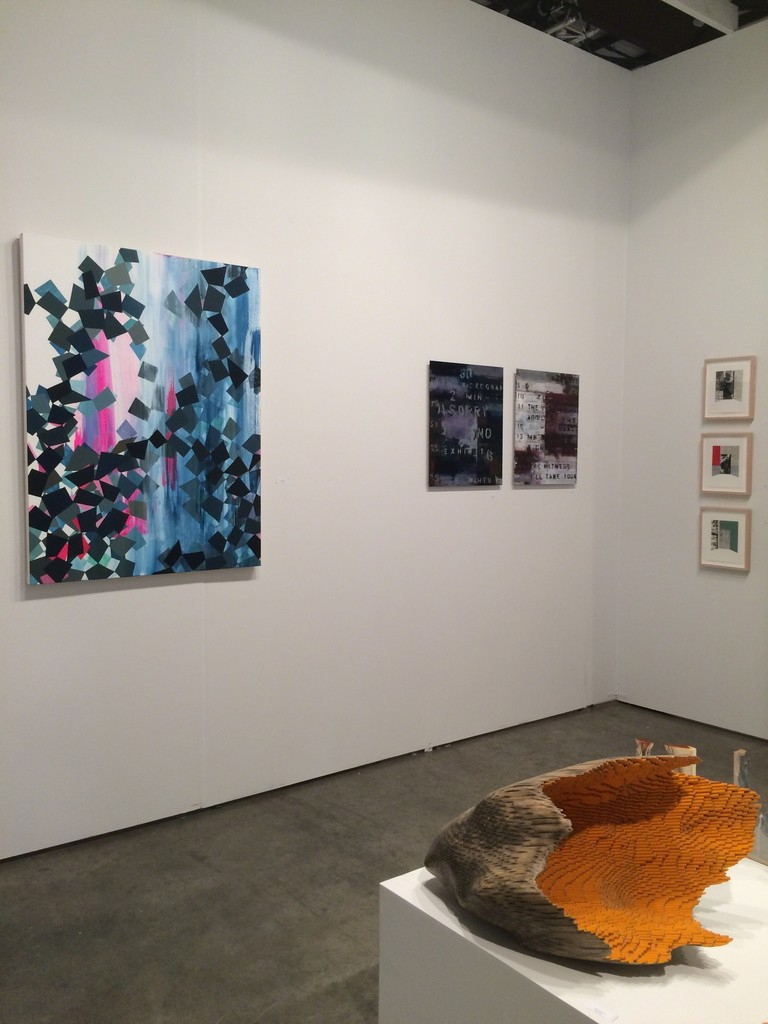 Paintings by Alison Rash, Brian Dupont and Alan Steele, Sculpture by Jessica Drenk