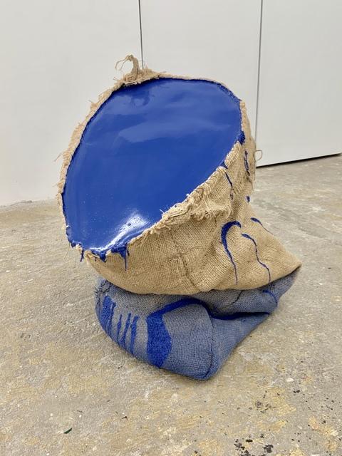 Howard Schwartzberg, 'Blue Sack Painting', 2019, Cindy Rucker Gallery
