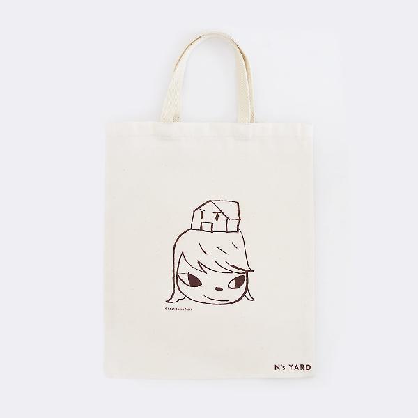 Yoshitomo Nara, 'Tote Bag - House on the Head', 2010-2020, Design/Decorative Art, 100% Cotton, Curator Style