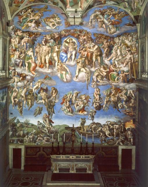 Michelangelo Buonarroti Last Judgment Sistine Chapel