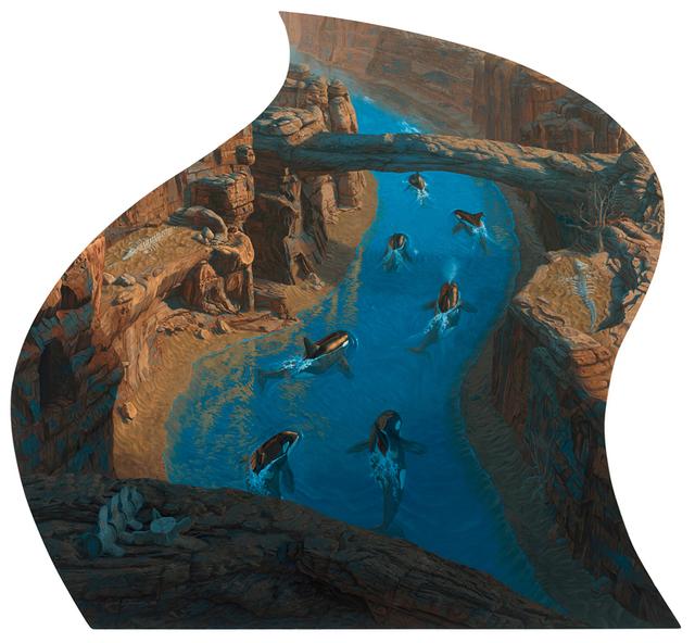 Josh Tiessen, 'Peace Like a River', 2018, Jonathan LeVine Projects