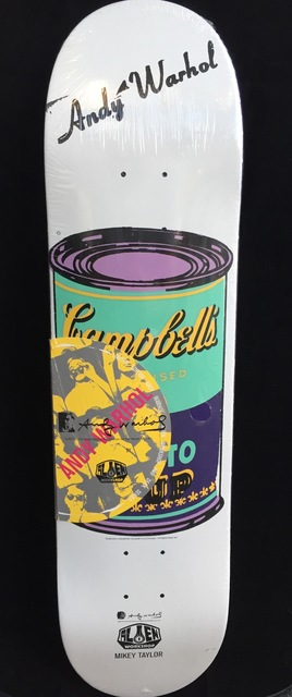 Andy Warhol, 'Andy Warhol Campbell's Soup Skateboard Deck ', ca. 2010, Lot 180