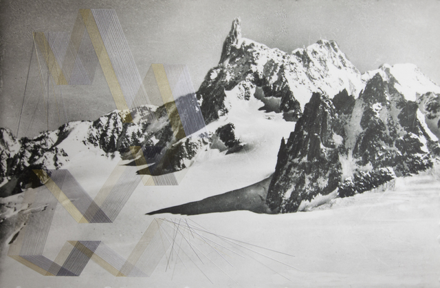 , 'Alps (Gold),' 2015, Haines Gallery