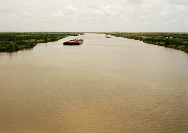 , 'Untitled (Intercoastal Waterway with Red Barge) ,' 2015, Yancey Richardson Gallery