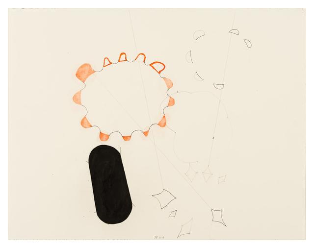 , '100/19 J.W. Goethe Blaue Sonnenbahn,' 2016, Häusler Contemporary