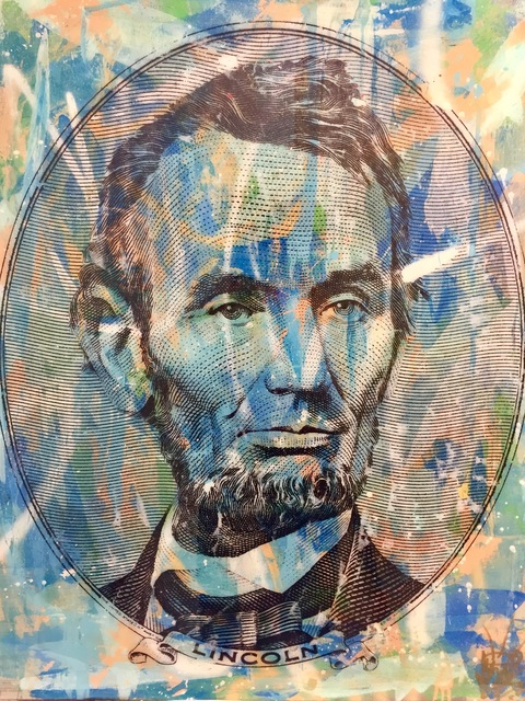 , 'Abraham Lincoln,' 2018, World Trade Gallery