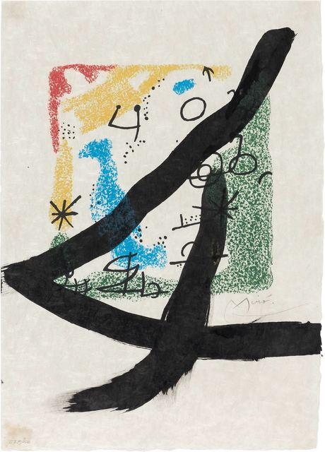 Joan Miró, 'LES ESSÈNCIES DE LA TERRA (M. 578; SEE C. BOOKS 123)', 1968, Doyle