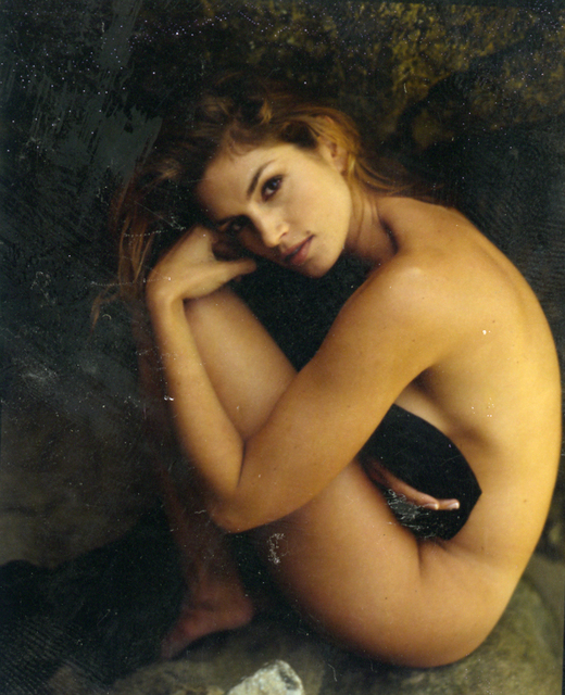 Sante D'Orazio, 'Cindy Crawford Malibu Esquire ', 1995, Photography, Polaroid photograph, Joyce Varvatos