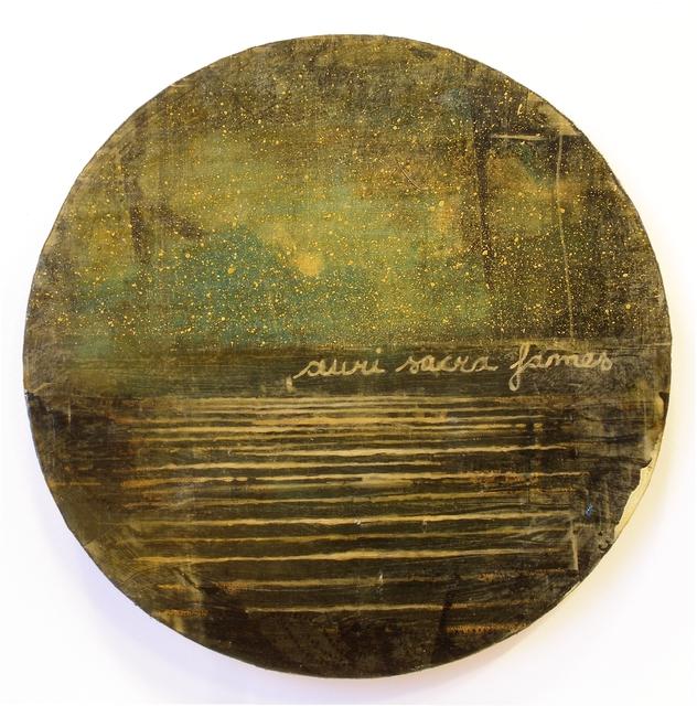 , 'Auri sacra fames VI,' 2017, Galleria Punto Sull'Arte