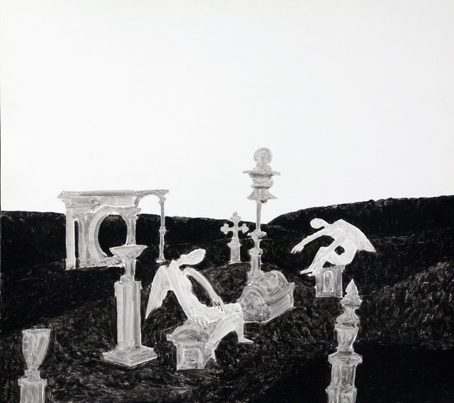 , 'Angels and crosses,' 1998, Zdes Gallery