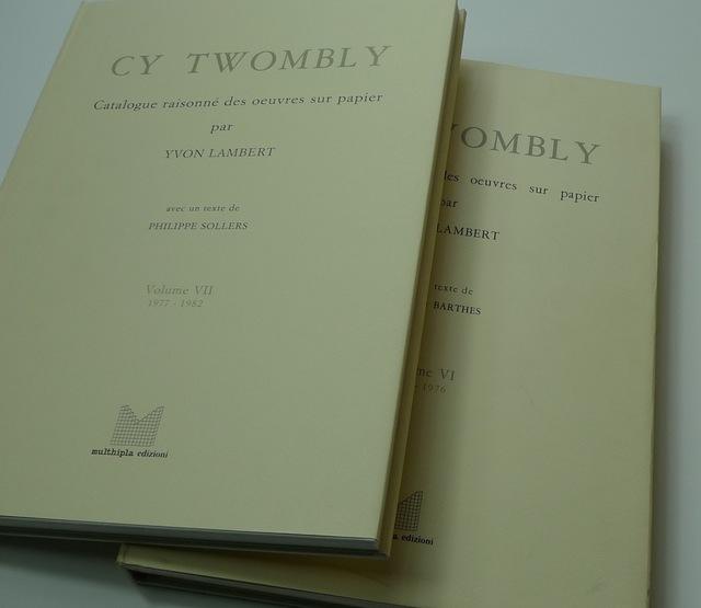 Cy Twombly, 'Catalogue Raisonne Des Oeuvres Sur Papier', 1979-1991, Bengtsson Fine Art