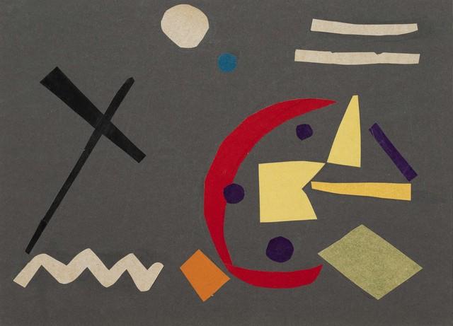 Benode Behari Mukherjee, 'Abstract Collage', 1958, Vadehra Art Gallery