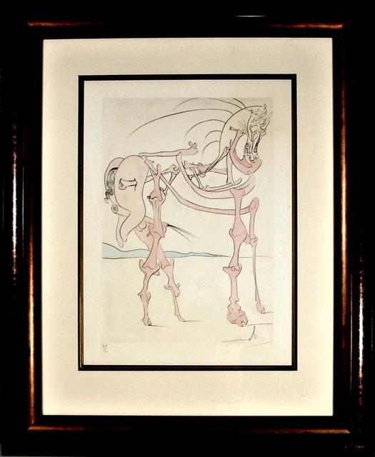 Salvador Dalí, 'Le Cheval en Rose (The Rosy Horse)', 1975, Joseph Grossman Fine Art Gallery