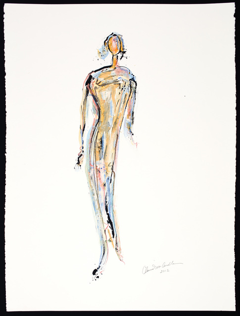 Claire McArdle, 'Figure Drawing No9', 2012, Artist's Proof