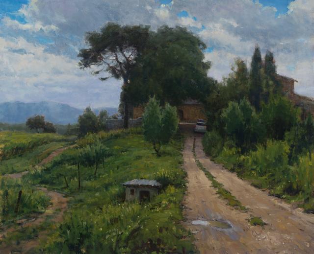, 'Wet Backroad,' 2017, Grenning Gallery
