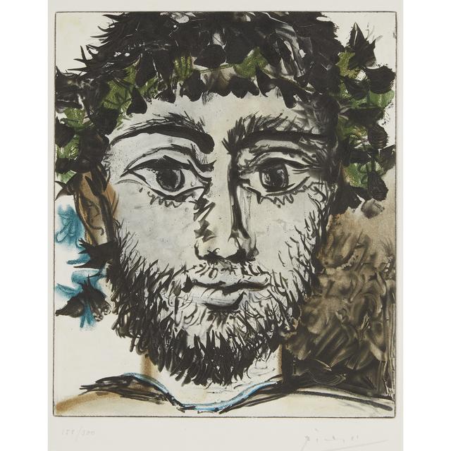 Pablo Picasso, 'Tête De Faun', 1958, Freeman's