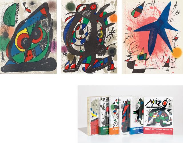 Joan Miró, 'Miró Lithographs Catalogue Raisonné, Vols. I-VI: containing 32 original lithographs', 1972-1992, Phillips