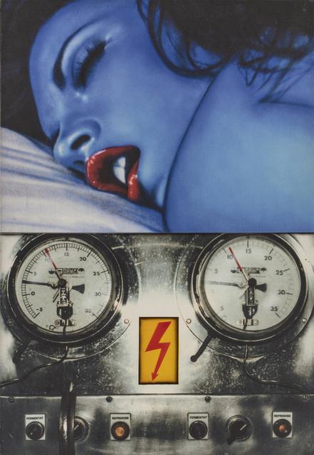 Peter Klasen, 'Blue Dream/ Refroidis', 2006, Painting, Print on canvas, Millon