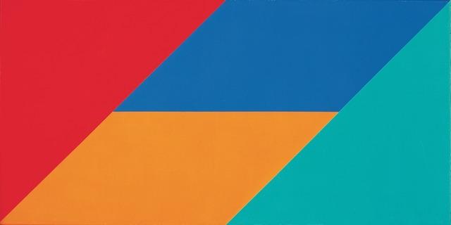 , 'vier gleichgrosse farben,' 1970, Lorenzelli arte