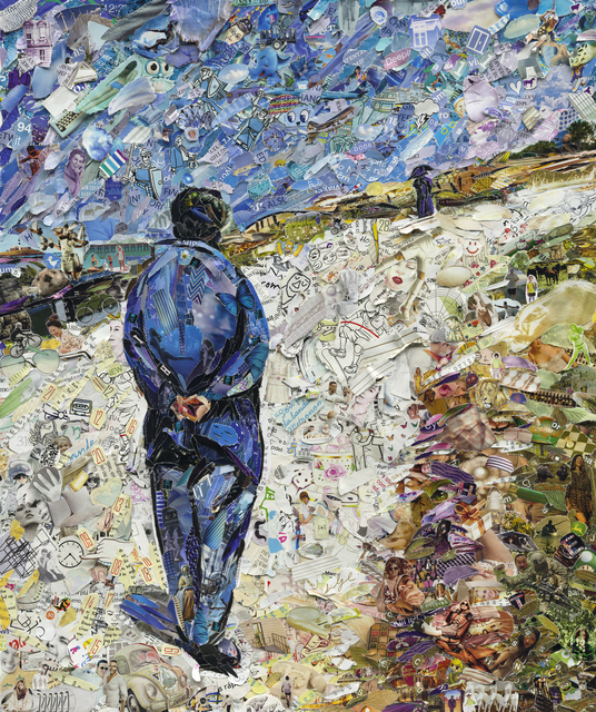 , 'Father Magloire on the Road between Saint-Clair and Etretat, after Gustave Caillebotte,' 2013, Matthew Liu Fine Arts