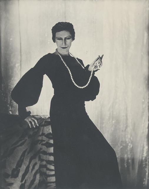 , 'Cecil Beaton as Elinor Glyn,' Paris 1930, Johannes Faber