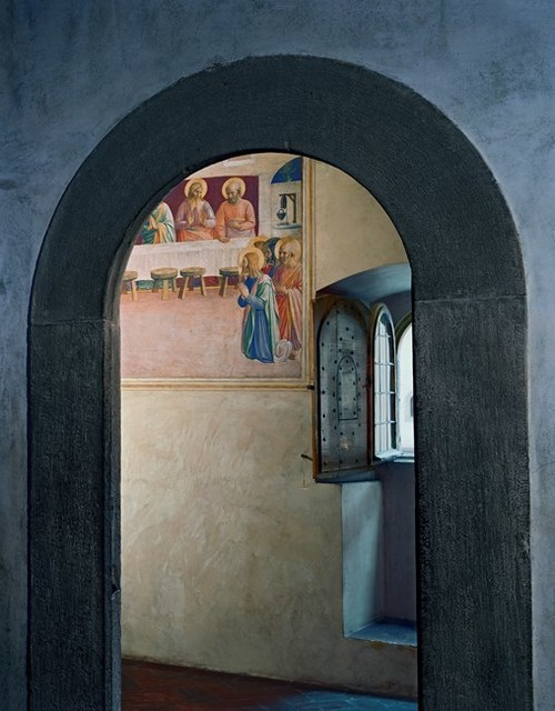 Robert Polidori, 'The Last Supper, or Communion of the Apostles by Fra Angelico, Cell 35, Museum of San Marco Convent, Florence, Italy', 2010, Flowers