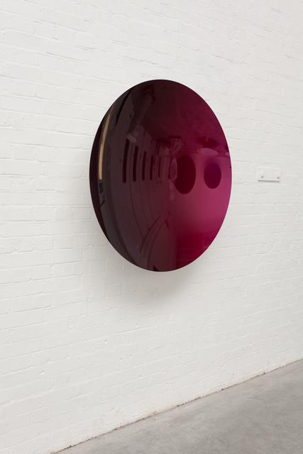 Anish Kapoor, 'Mirror (Black to Magenta)', 2015, SCAI The Bathhouse