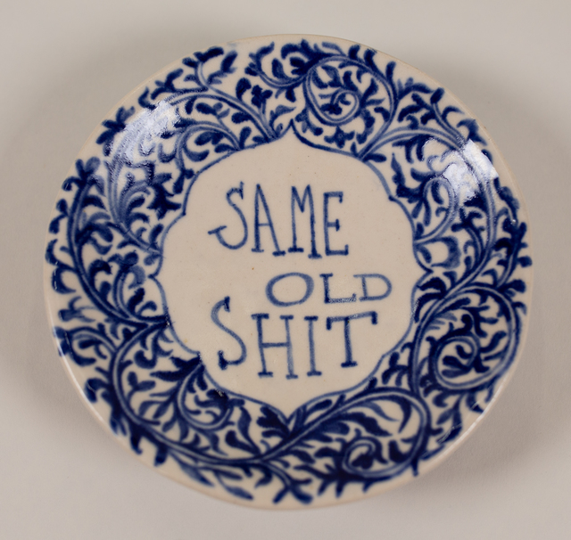 , 'Same Old Shit,' 2018, Track 16 Gallery