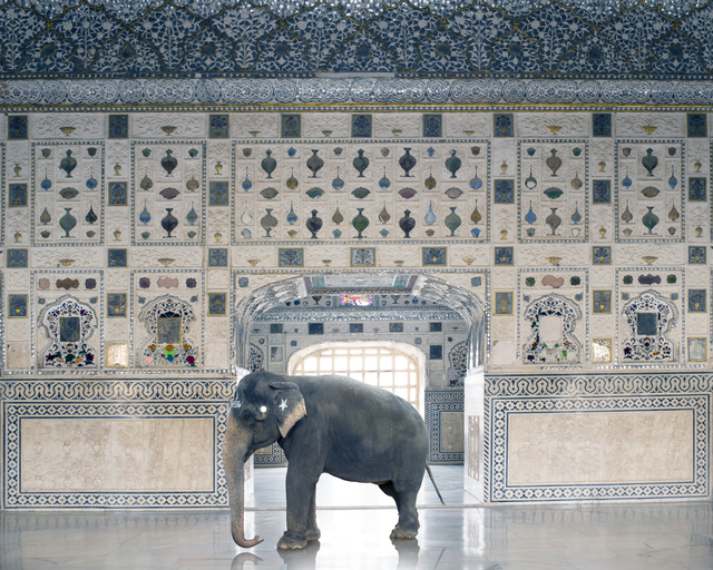 ", 'Temple Servant from the series ""India Song"",' 2014, Danziger Gallery"