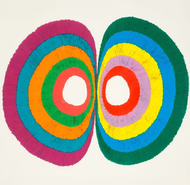 Dennis Koch, 'Untitled (Hemispheric Discontinuity)', 2009, Other, Color pencil on paper, Heritage Auctions