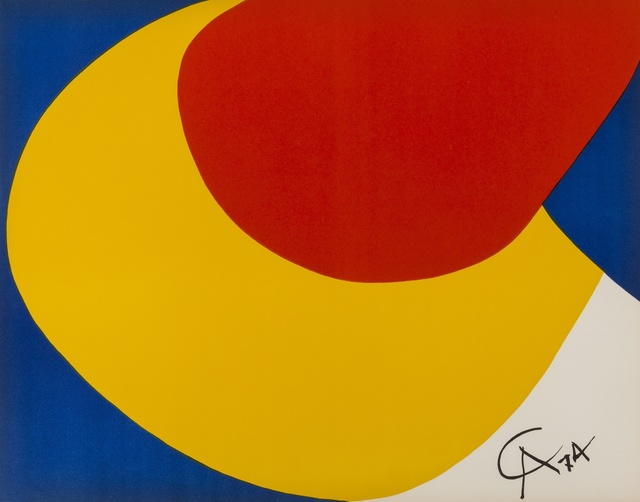 Alexander Calder, 'Convection, Beastie, Skybird (from Flying Colours)', 1974, Forum Auctions